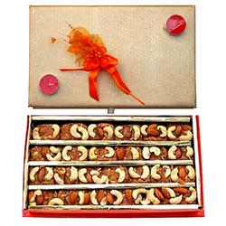 Relishing Sweets in Sacred Box : Sweets / Mithais