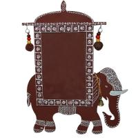 Rajasthani Mandana Elephant Photo Frame