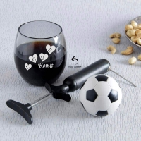 Personalized Whisky Glass with Wine Bottle Opener