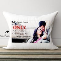 Anniversary Personalized Pillow