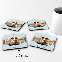 Fabulous Personalized Wooden Coasters