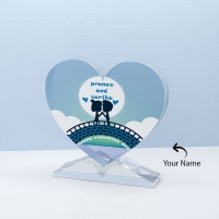 Attractive Personalized Heart Shape Crystal