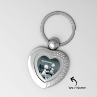 Attractive Key Chain Personalized with Photo