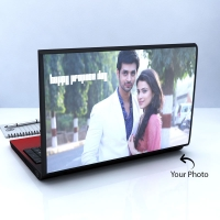 Adorable Laptop Skin Personalized with photo