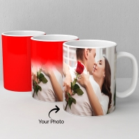 Red and White Magic Mug Personalized