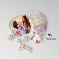 Heart Shape  Personalized Puzzle