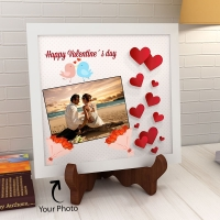 Heart Melting Personalized Ceramic Tile