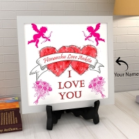 Classic Personalized Ceramic Tile
