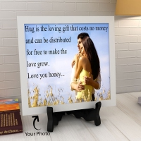 Beautiful Personalized Ceramic Tile
