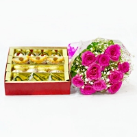 Assorted Sweets & Roses