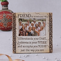 Ceramic Photo Frame for Friends