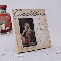 Ceramic Photo Frame for Grandchildren
