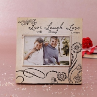 Designer Photo Frame with Quotation