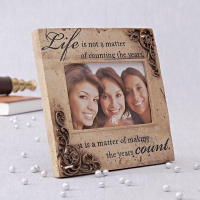 The Essence Of Life Photo Frame
