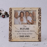 Designer Photo Frame with Future Quotation