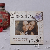 Ceramic Photo Frame for Daughter