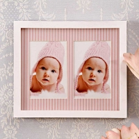 2 in 1 Pink Collage Frame