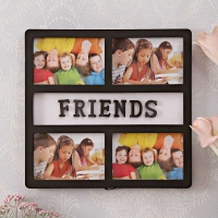 4 in 1 FRIENDS Black Frame