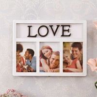 Love Picture Frame White