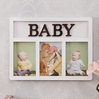 Baby Picture Frame White