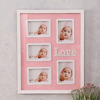 5 in 1 Love Pink Frame