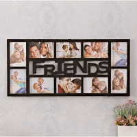 10 in 1 FRIENDS Black Frame