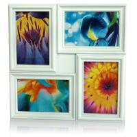 Abstract 4 in 1 White Frame