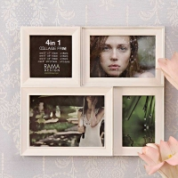 4 in 1 Collage Frame White