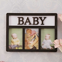 Baby Picture Frame Black