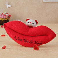 Lips Soft Toy